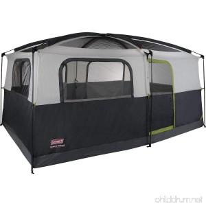 Coleman Prairie Breeze 9-Person Cabin Tent Black and Grey Finish - B004RDQK0K