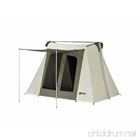 Kodiak Canvas Flex-Bow 4-Person Canvas Tent  Deluxe - B002QZUOTE