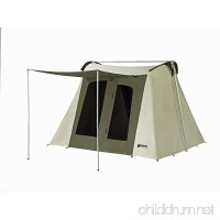 Kodiak Canvas Flex-Bow 6-Person Canvas Tent Deluxe - B001O02TK4