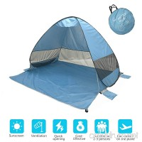 Onmiy Beach Tent Shade Anti UV Pop Up Tent For Outdoor Oversized Design 2-3 Person Lightweight Portable Cabana Sets up in Seconds - B07DZLBC6Y