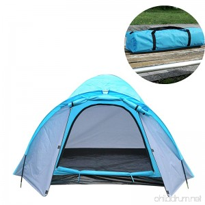 ShinyFunny 3-4 Person Four Season Waterproof Family Outdoor Camping Traveling Backpacking Instant Sports Tent with Carry Bag - B06XHZRY64