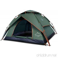 Toogh 2-3 Person Camping Tent 4 Season Backpacking Tent Automatic Instant Pop Up Tent for Outdoor Sports - B071CVNSK4