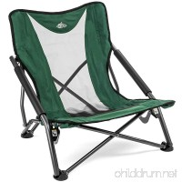 Cascade Mountain Tech Compact Low Profile Outdoor Folding Camp Chair - B07DR61XDD