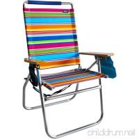 Copa Beach 18 Inches High Seat Big Tycoon Beach Chair - B07D4R5K2F