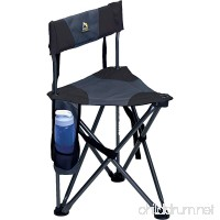 GCI Outdoor Quick-E-Seat Folding Tripod Field Chair with Backrest - B002JPQU8K