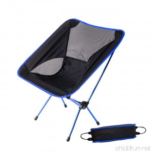 HASLE OUTFITTERS Camping Chairs Ultralight Chairs Moon Leisure Chair Folding camping chair for Travel Picnic Beach Fishing. - B07BDHM3RB