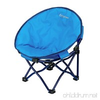 KingCamp Moon Saucer Chair Cute Round Mini Size Ultralight Portable Compact Folding with Safe Lock for Camping Picnic Outdoor with Carry Bag - B01MRXAG57