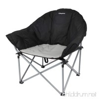 KingCamp Sofa Chair Oversized Padded Reclining Folding Heavy Duty Deluxe Portable Stable for Camping  Hiking  Carry Bag Included - B01E5F2KTO