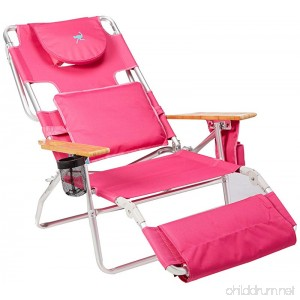 Ostrich Deluxe Padded Sport 3-in-1 Aluminum Beach Chair Pink - B00MS51TM8