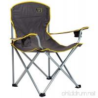 Quik Chair Heavy Duty Folding Camp Chair - Grey - B005GYUSHK