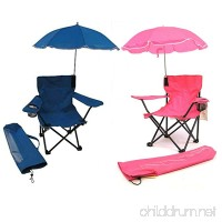 Redmon For Kids Beach Baby Kids Umbrella Camp Chair Combo - B07CHP59D3