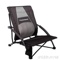 STRONGBACK Low Gravity Beach Chair with Lumbar Support - B01194YRTU