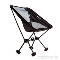 Terralite Portable Camp Chair. Perfect For Camping  Beach  Backpacking  Hiking & Outdoor Festivals. Compact & Heavy Duty (Supports 350 lbs). Includes TerraGrip Feet- Won't Sink in the Sand or Mud - B01E0HVYZI