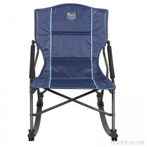 Timber Ridge Catalpa Relax & Rock Chair Blue - B079JPTJ5V