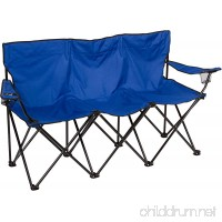 Triple Style Tri Camp Chair with Steel Frame by Trademark Innovations - B079P4B7WB