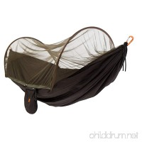 Camping Hammock with Mosquito Net - 400 lbs Capacity for Outdoor  Hiking  Backpacking  Backyard Single & Double - B01NBVXWNW