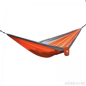 OuterEQ Portable Parachute Nylon Fabric Travel Camping Hammock - B00G3ZURYU
