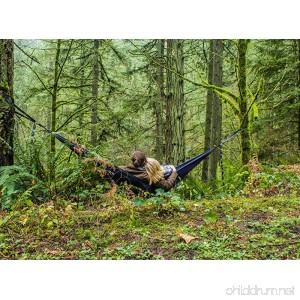 Rad Hammock Co. Single and Double Camping Hammock with Tree Straps Every Hammock Purchase Plants a Tree Premium Ripstop Nylon Camping Hammock The Raddest Hammocks for Any Adventure - B078VFFYD1