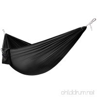 Yes4All Lightweight Camping Hammock with Carry Bag – Multi Color Available (Double) & Tree Strap (Optional) - B00VLWH73Y
