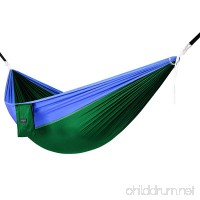 Yes4All Lightweight Camping Hammock with Strap & Carry Bag – Multi Color Available (Single) - B00XVD4RB6