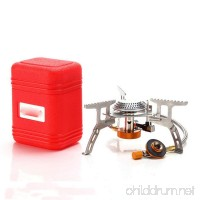 Camping Gas Stove  Sacow Portable Folding Ultralight Gas Stoves Outdoor Backpacking Mini Stove with Piezo Ignition (3500W) - B07DWZMLF9