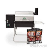 Green Mountain Grills Davy Crockett Wi-Fi Enabled Grill with 2 Pack Gourmet Blend Pellets - B01FOJ1J0G