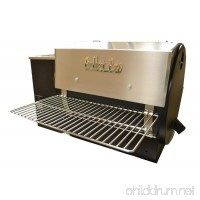 "Pellet Pro® 34"" x 12"" Stainless Steel Folding Front Pellet Grill Shelf for Traeger  Camp Chef  etc. - B073K1HXV7"