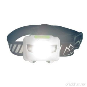 Running Headlamp LED Flashlight with Reflective Band - Bright Light Comfortable Waterproof 4 Light modes with Red; For Runners Hiking Camping Hunting Fishing Dog Walking Work DIY - B01A9P39CG