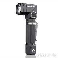 Flashlight NICRON N7 600 Lumens Tactical Flashlight 90 Degree Flashlight Ip65 Waterproof Led Flashlight 4 Modes- Best High Lumens are for Camping Outdoor Hiking - B07FFKJVT1