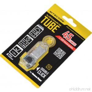 Nitecore Tube Keychain Light T Series 45 Lumen Multi Color Pocket Flashlight - B00OZJ79T2
