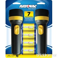 RAYOVAC Value Bright 9-Lumen 2D Economy Flashlight Twin Pack with Batteries  EVB2D2D-BD9D - B00428V8UM