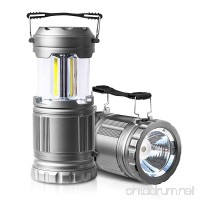 2 Pack LED Camping Lantern Flashlights – ULTRA BRIGHT – PUAIDA Portable Emergency Tac Lantern Lights for Camping  Car  Shop  Attic  Garage(Collapsible) - B07779NX2F
