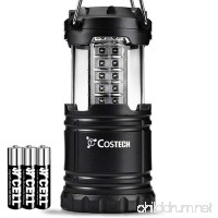 LED Camping Lantern Costech Portable Brightest Outdoor Emergency Light with Batteries for Camping Hiking Fishing Hurricane Storm Outage - B01BZD33UE