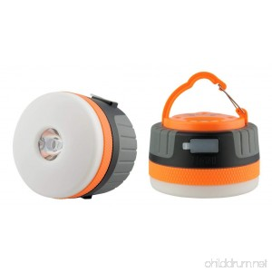 Yeuloum Portable and Rechargeable LED Camping Lantern Light with Magnet Base 2200 mAh Charger for Mobile Used as Tent Light Night Light and flashlight Survival Kit for Emergency Hurricane Outage - B076H36Q5T