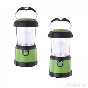 ZZD LED Camping Lantern Lights Water Resistant Small Lantern Flashlight for Emergency Hurricane Outage(4AA Battery Powered) - B074S2QXWX