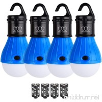 Gold Armour LED Camping Light - LED Lantern Camping Lantern Portable LED Tent Lantern Camping Gear Camping Equipment for Outdoor and Indoor (4Pack) - B0741V9VL8
