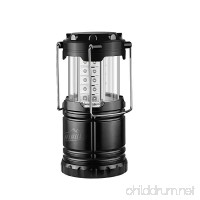 HiHiLL Led Camping Lantern Flashlight Portable Battery Powered Lamp Water Resistant Light with Hook Survival Kit for Emergency Hurricane Outdoor Hiking Fishing - B01N7FGN5V