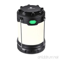 Hillmax LED Camping Lantern with White Light Warm Light and Mixture Portable Outdoor Light Operated by AAA or AA Batteries for Camping Hiking and Emergency (Battery Included) - B01N7JM03C