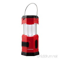"""TANSOREN Portable LED Camping Lantern Solar USB Rechargeable or 3 AA Power Supply  Built-in Power Bank for Android Charger  Waterproof Collapsible Emergency LED Light with S"""" Hook - B00ZIIVQFM"""