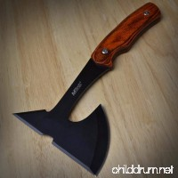 "NEW! 9"" SURVIVAL TOMAHAWK TACTICAL THROWING AXE w/ SHEATH BATTLE Hatchet Knife Hawk - B01H3Z2IRC"