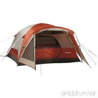 3 Person Tent Wilderness Lodge - Dome Style In Burnt Orange - B016MT3SKQ