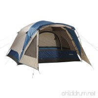 4 Person Tent Wilderness Lodge - Dome Style Vestibule For Added Element Protection - B016MUCSJM