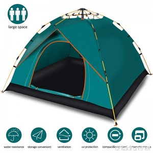 Cheryu Automatic Instant Family Tent for Camping Portable and Waterproof Instant Pop Up Backpacking Tents for 2-3 Person Outdoor Rainproof Camping Great for Picnic Hiking Beach Fishing Travel - B07D7S9KVM