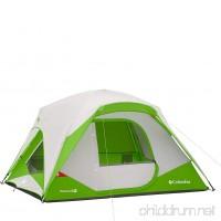 Columbia Sportswear Pinewood 4 Person Dome Tent (Fuse Green) - B01E0O20W2
