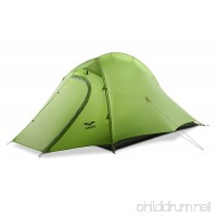 MIER 2 Person Camping Tent with Footprint Waterproof Backpacking Tent Lightweight & Quick Setup - B07F16MWNM