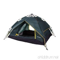 North Gear Double Layer 3 Person Instant Tent - B00YE6WFNQ