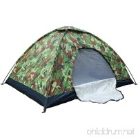 XMT-MOTO Camo Outdoor Camping Waterproof 1-2 Person Folding Tent Camouflage Hiking - B078P9XM4N