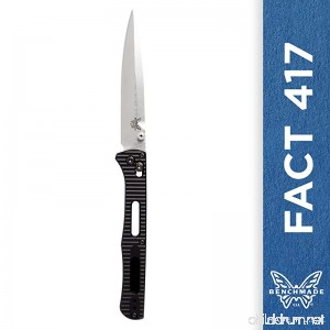 Benchmade - FACT 417 Knife Spear-point - B078N4VXBC
