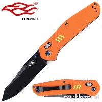 Knife F7563 Firebird by Ganzo G7563 Pocket Folding Hunting Knife G-10 Handle SS Blade - B06W5BQ72B