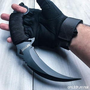 10 TACTICAL COMBAT KARAMBIT KNIFE BestSeller989 Survival Hunting BOWIE Fixed Blade - B076GPSW2B